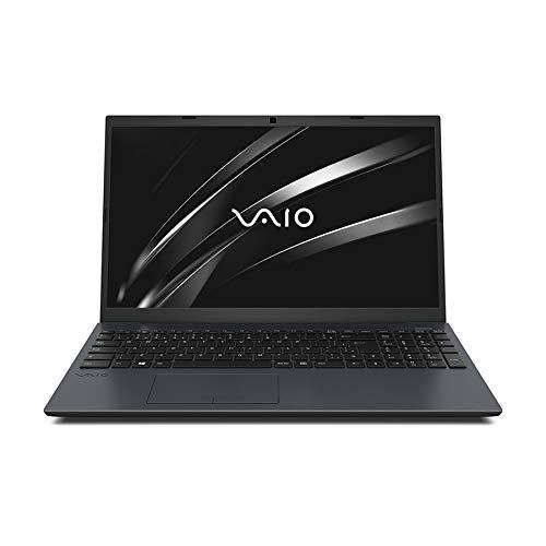 "Notebook Vaio FE15, Intel Core i7, 8GB RAM, SSD 256GB, Tela 15.6"" LCD HD, Windows 10 - Chumbo Escuro"