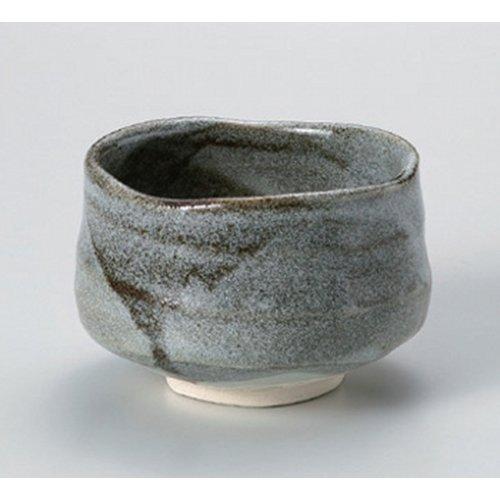 Matcha bowl blue Shino tea bowl ( of ) [11.2 x 8cm] Tsuchimono strengthening Japanese instrument Liquor restaurant for hotel business