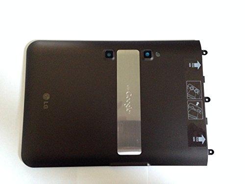 (New OEM LG V900 V909 Optimus G Slate Tablet Battery Door Back Cover o4l Brown )
