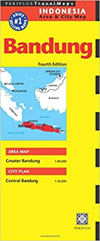 Bandung travel map fourth edition indonesia regional maps flip to back flip to front sciox Choice Image