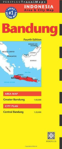 Bandung Travel Map Fourth Edition (Indonesia Regional Maps)