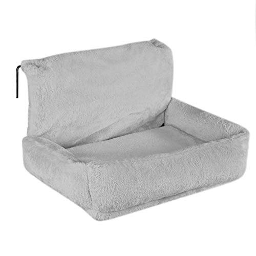 Dibea CB00290 Cat Bed for Heaters Cat Heating Lounger Cat Hammock for Heating Grey