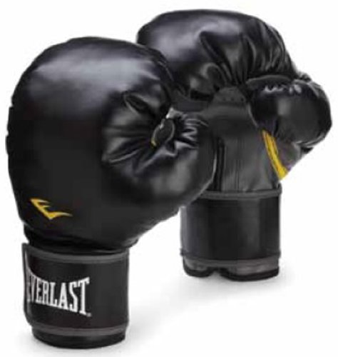 Everlast クラシック ボクシング用トレーニンググローブ (色: ブラック、重さ: 12オンス) 141[並行輸入]