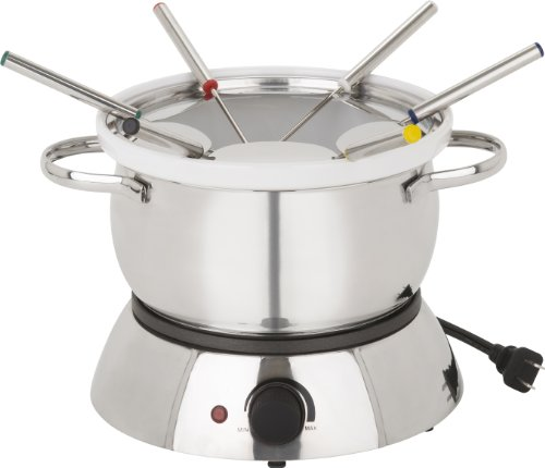 Trudeau alto 3 in 1 electric fondue set, 11-piece ()