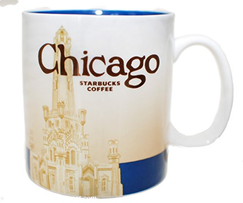 Starbucks Coffee 2011 Chicago Mug, 16 fl oz by Starbucks