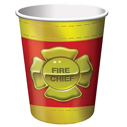 (Creative Converting Firefighter 8 Count Paper Cups, 9-Ounce)