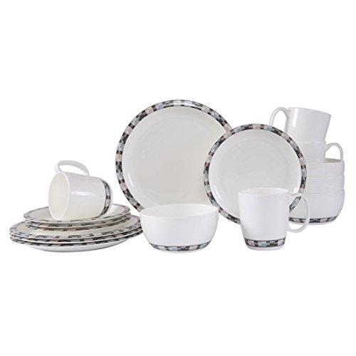 Bone China Dinnerware Set - 7