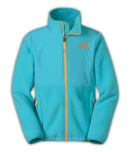 The North Face Denali Jacket Girls Recycled Fortuna Blue L14/16 (Denali Fleece Jacket Girls)