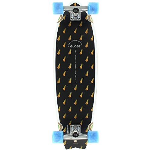 Globe Chromantic Black Pineapple Bamboo Complete Skateboard – 9.7 x 33