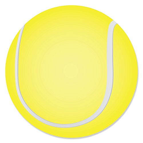 (You Got Served - Tennis - Baby Shower or Tennis Ball Birthday Party Circle Sticker Labels - 24 Count)