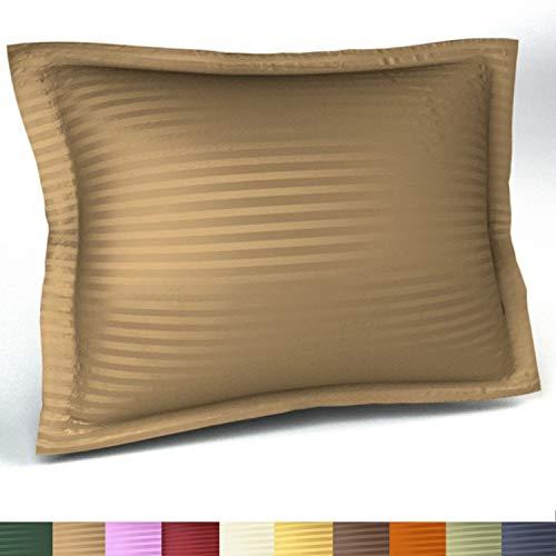 Harmony Lane Sateen Stripe Tailored Pillow Sham,