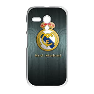 Real Madrid Black Motorola G Cell Phone Case White GAI