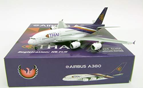 Phoenix Model PHX11534 1:400 Thai Airways Airbus A380-800 Reg #HS-TUD (pre-Painted/pre-Built)