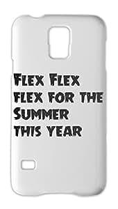 Flex Flex flex for the Summer this year Samsung Galaxy S5 Plastic Case