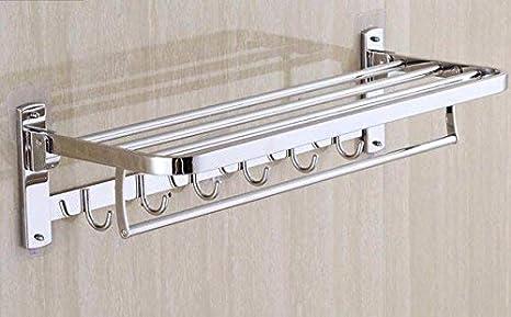Towel Rack Home Portarrollos Toallero de baño Estante Acero ...