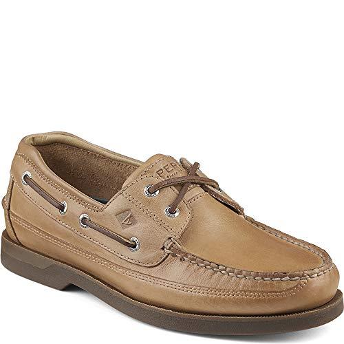 Sperry Men's Mako 2-Eye Boat Shoe, Oak, 11.5 W US ()