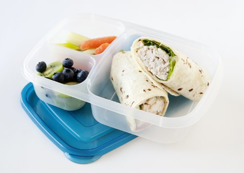 easylunchboxes 3 compartment bento lunch box containers set of 4 classic buy online in uae. Black Bedroom Furniture Sets. Home Design Ideas