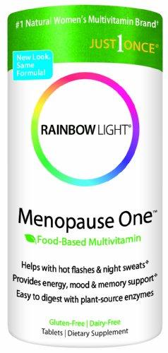 Arco iris luz menopausia un multivitamínico, 30-cuenta