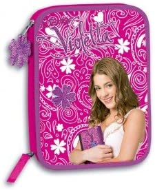 Estuche Violetta Disney Travel doble completo: Amazon.es: Bebé