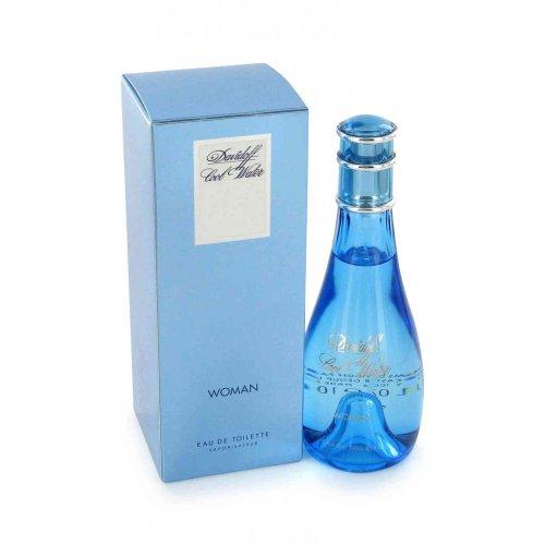 Cool Water By Davidoff For Women. Eau De Toilette Spray, 1.7 Ounces