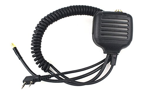 FANVERIM Shoulder Speaker Mic for KENWOOD Radio QUANSHENG PUXING WOUXUN HYT TYT BAOFENG UV5R 888S,ham radio with Antenna