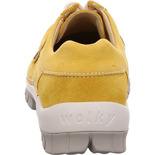Fly Stringate Seamy Wolky Gelb Nubuk Donna Scarpe Yellow 0470810900 pnvz1z6qa