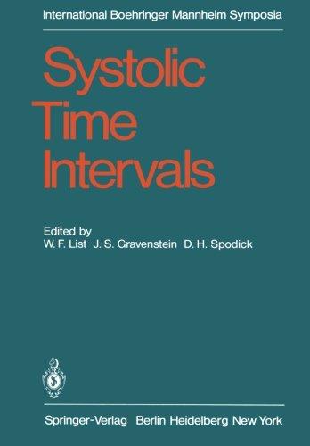 Systolic Time Intervals  International Symposium  Graz  Austria September 1 2  1978  International Boehringer Mannheim Symposia