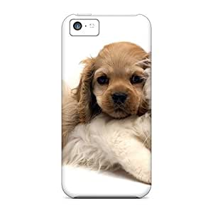 High-end Case Cover Protector For Iphone 5c(cute Cat Dog)