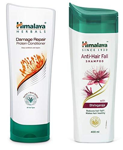 Himalaya Herbals Protein Conditioner, 200ml and Himalaya Herbals Anti Hair Fall Shampoo, 400ml