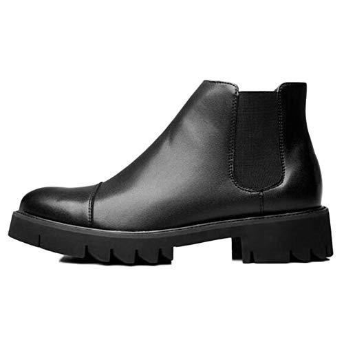 Pelle Chelsea Formale da Pelle Black Stivali Uomo E Inverno Invernali Brogue Classic Autunno in Stivali Uomo Boots Martin in Desert Casual H1qxHp4w