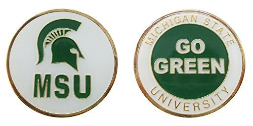Collectible Challenge Coin- Logo Poker - Lucky Chip Michigan State University