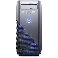 2018 Newest Dell Inspiron 5675 Gaming Desktop Computer (AMD Quad-Core Ryzen 5 1400 up to 3.4 GHz, 8GB DDR4 RAM, 256GB SSD + 1TB HDD, AMD Radeon RX 570 4GB, DVD, Windows 10) (Certified Refurbished)