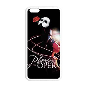 Laser Technology Phantom of the Opera Personalized Design TPU Case Cover with Picture for iPhone 6 4.7