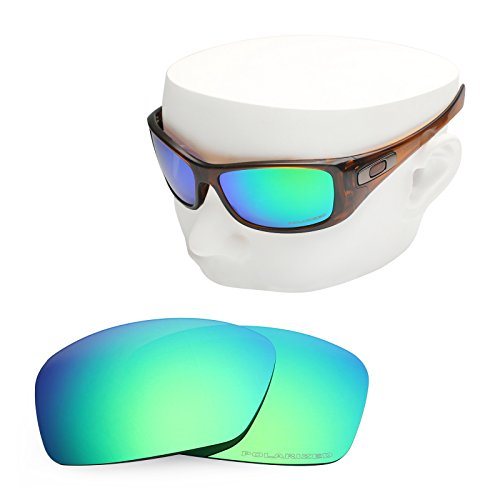 OOWLIT Replacement Sunglass Lenses for Oakley Hijinx Emerald Combine8 Polarized by OOWLIT