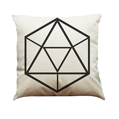 Amazon.com: LJSGB - Fundas de almohada de microfibra, diseño ...