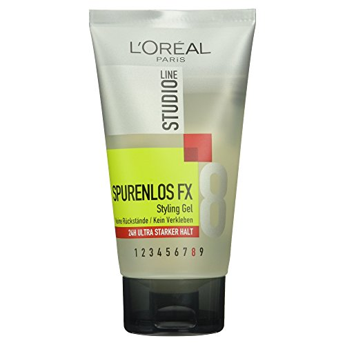 L'Oréal Paris Studio Line Spurenlos FX Styling Gel 8, 150 ml