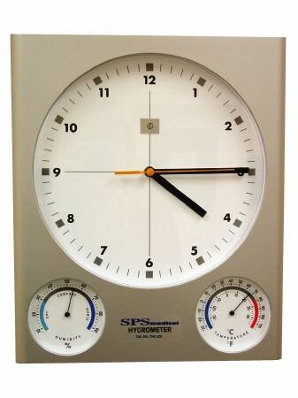 Mckeesson Wall Mount Clock 12 Hour Analog Battery