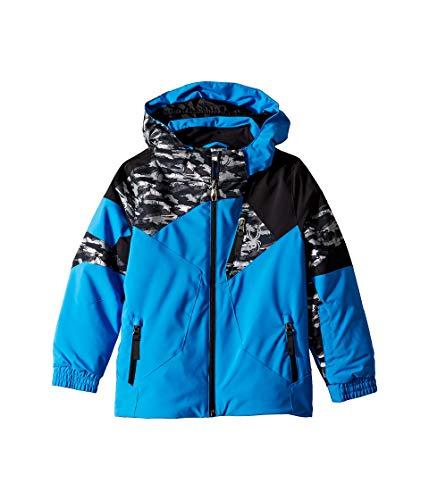 - Spyder Kids Baby Boy's Leader Jacket (Toddler/Little Kids/Big Kids) French Blue/Spyder Camo Black/Black 3T