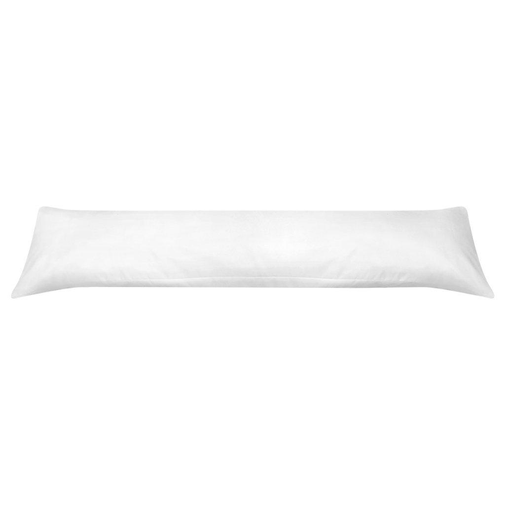 vidaXL Seitenschläferkissen Stillkissen Baby Lagerungskissen 40 x 145 cm Weiß