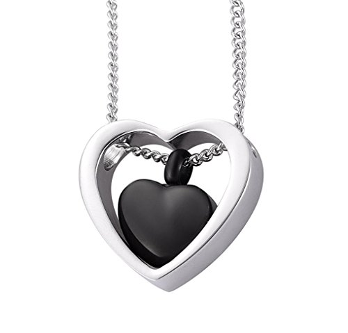 Flove Cremation Urns Ashes Jewelry, Cremation Necklace for Ashes