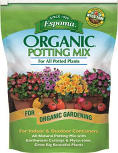 Espoma AP4 4-Quart Organic Potting Mix (Best Price On Mulch)