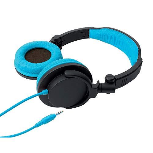 Fone de Ouvido Tipo Headphone Dobrável - Full Bass, One for all, Preto/Azul