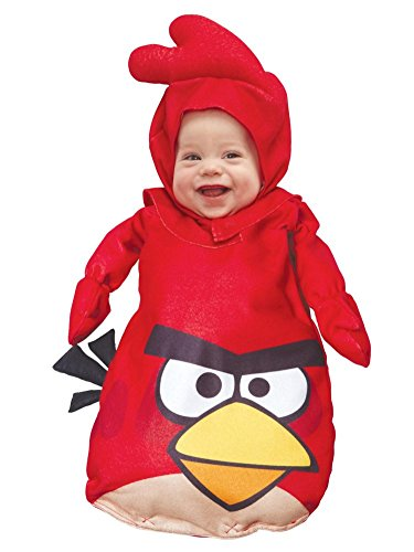 Angry Birds Infant Boys & Girls Red Bird Bunting Costume