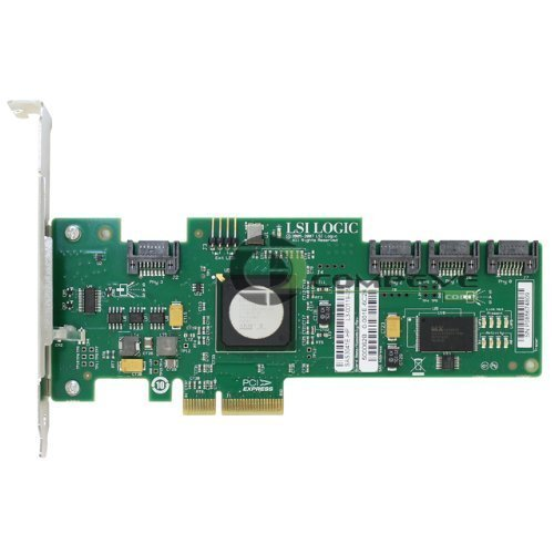 (Lsi Logic Controller Card Sas3041e-R Pci Express 3gb/S Sas 4-Port Host Bus Adapter Single Pack New)