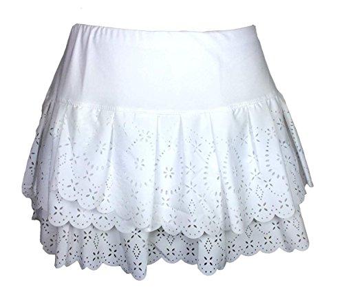 Lucky In Love Laser Pleat Tier Skirt