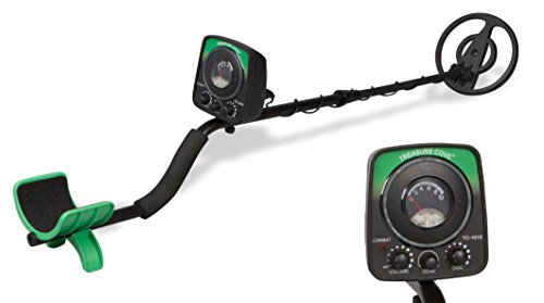 Treasure Cove TC-1015 Fast Action Junior Metal Detector with Waterproof Search Coil, No Manual Tuning Needed, 10 Year Warranty (Treasure Cove Metal Detector)