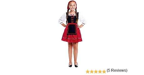 Disfraz Pastorcita Flores Niña Navidad (Talla 10-12 años) (+ ...