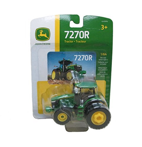 John Deere 1/64 Scale 7270R Tractor Toy by - Deer Tractor John Metal