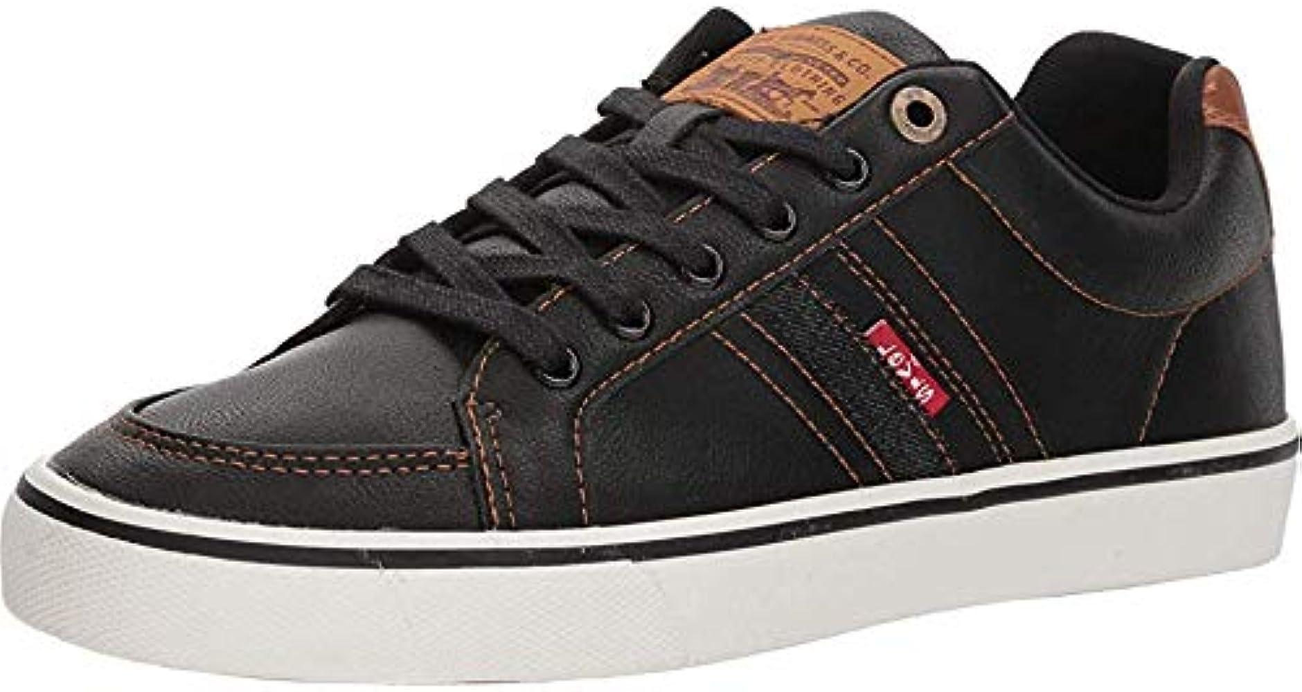 Shoes Men's Turner Nappa Black/Tan 7.5