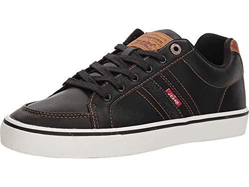 Levi's¿ Shoes Men's Turner Nappa Black/Tan 7 M US